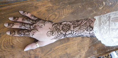 lace hand tattoo henna lace by flowerwills on deviantart