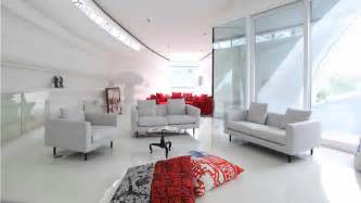 futuristic homes interior clean luxury futuristic interior living order design