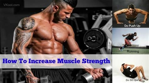 39 tips on how to increase strength naturally at home