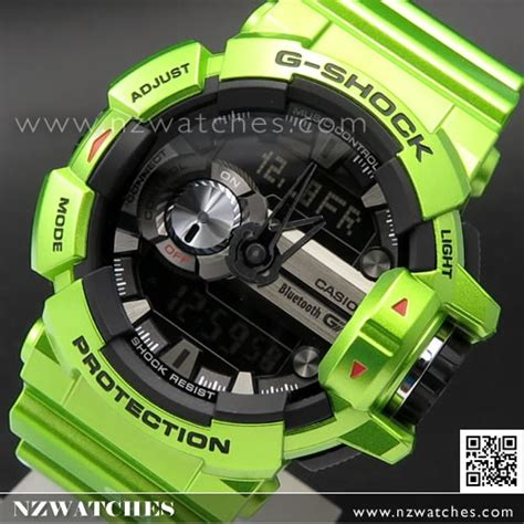 gshock gba 400 g mix green blue buy casio g shock bluetooth g mix 200m shiny