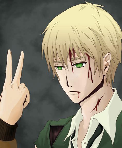 Aph Blind quot how many fingers am i holding up quot hetalia fan