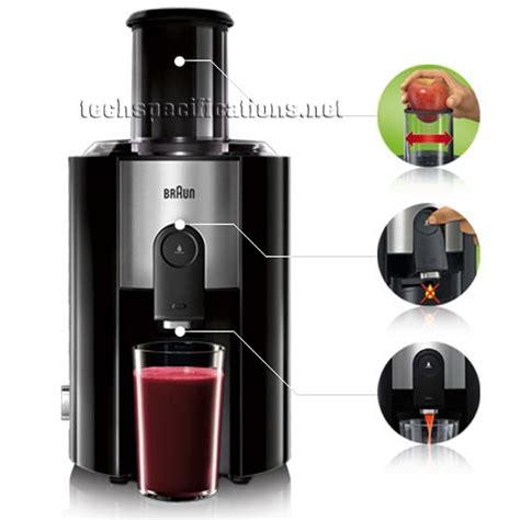 Juicer Braun braun j300 fruit vegetable juicer tech specs