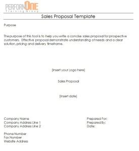 100 Free Word Proposal Templates Formats Rfp Sle Template Free