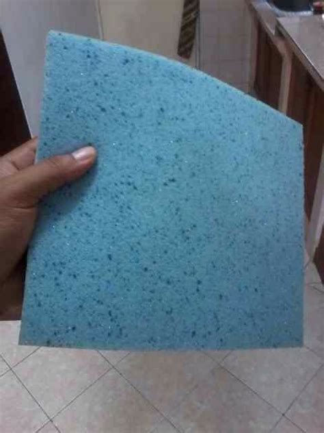 Busa Memory Foam pabrik blue gel memory foam jual busa memory foam biru