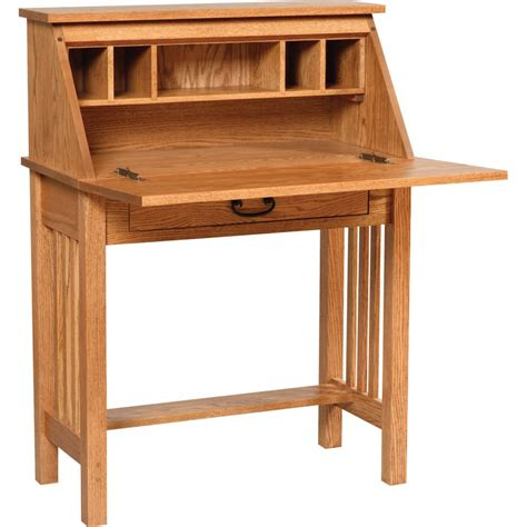 Secretarial Desk Mission Desk Amish Crafted Furniture