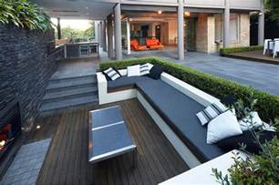 external sitting areas