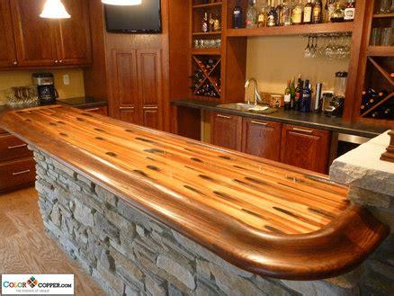 building a bar top stellar color copper bar top by dchi homerefurbers com