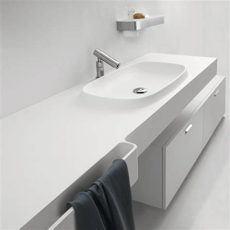 integrated bathroom sink and countertop integral sink countertop from agape new desk is an exmar