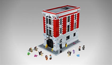 lego ghostbusters house lego ghostbusters firehouse hq muted