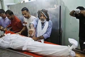 Islamic Cloth Gaza busy gaza morgue performs muslim burial rituals daily