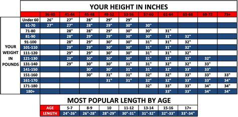 bat size charts abc pro tk