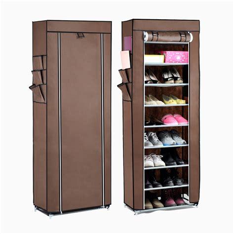 canvas shoe storage 10tier canvas fabric shoe rack shoes organiser storage