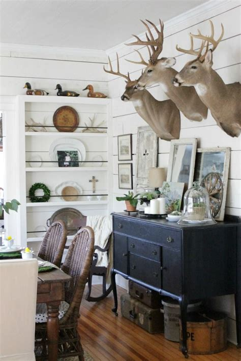 taxidermy home decor eclectic home tour circa 1934 blog room house and