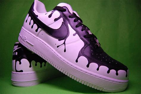 angelus paint air nike af1 quot drips quot on behance