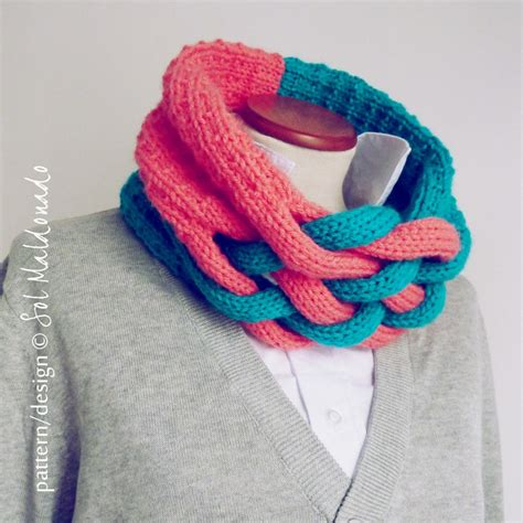 cool knitting patterns 25 best ideas about braid scarf on scarf