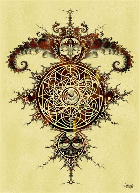 fractal tattoo design mandelbrot set inspiration