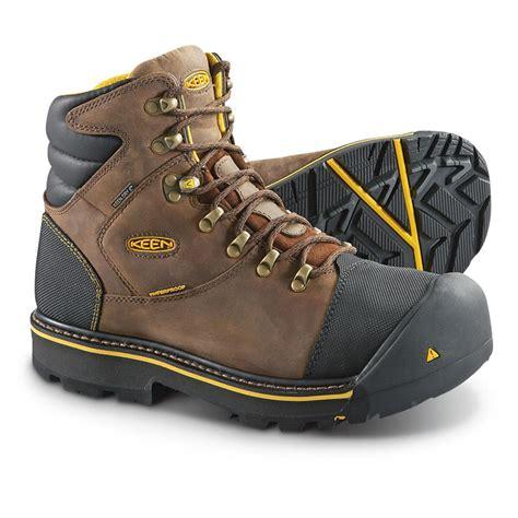 keen steel toe work boots keen utility s milwaukee waterproof steel toe work