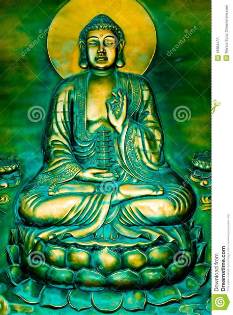 a lotus for you a buddha to be buddha on a lotus stock photos image 18384483