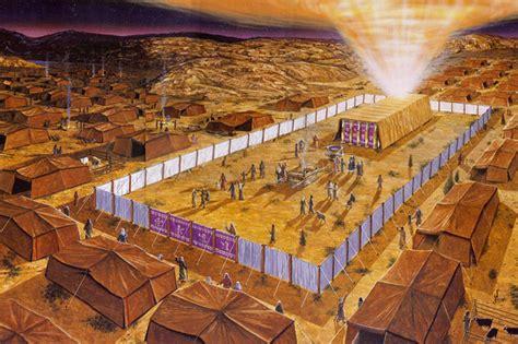el tabernaculo o tienda de reunion de israel recursos cristianos cuadros del tabern 225 culo y el sacerdocio