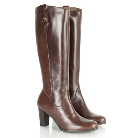 wonders brown randall s knee high boot