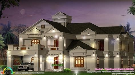 6 bedroom luxury house plans gorgeous super luxury 6 bedroom villa kerala home design and floor plans 6 bedrooms