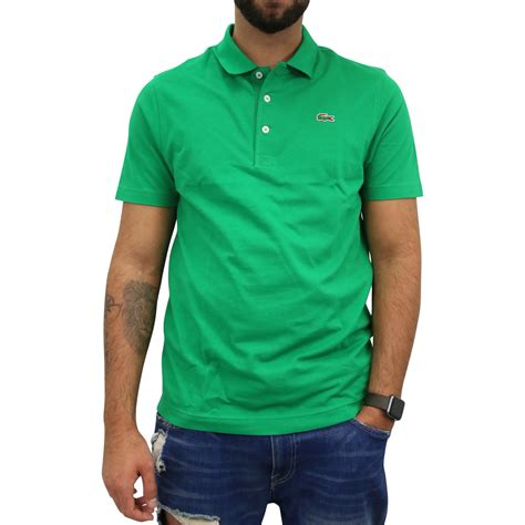 Overall Polos Fit L lacoste sport tennis regular fit polo poloshirt polohemd kurzarm herren l1230 ebay