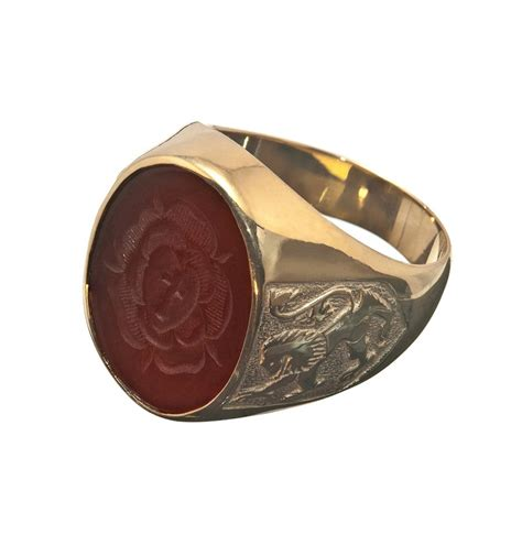 agate rosicrusian scottish gold plated sterling