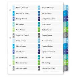 Avery Index Tabs Template by Avery Ready Index Customizable Table Of Contents