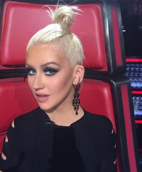 Aguilera Is A Chameleon by Aguilera The Of The Voice Usa