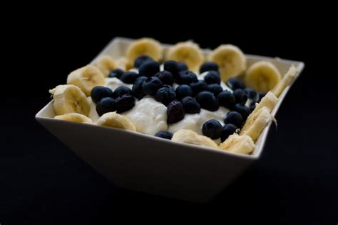 Wiki Cottage Cheese by Fil Blueberries Bananas Sour And Cottage Cheese