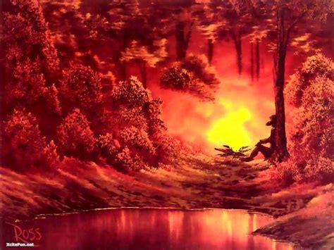 bob ross paintings beautiful xcitefunnet