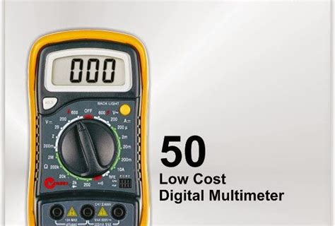 Multimeter Digital Constant jual alat ukur