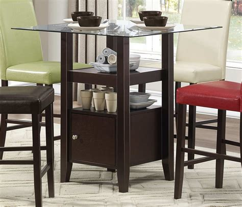 counter height table with storage furniture charming counter height table with storage for