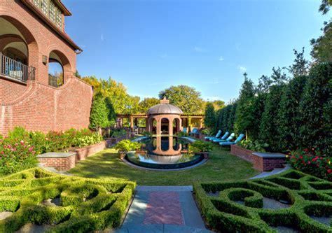french formal luxury dallas tx harold leidner private residence english tudor estate garden