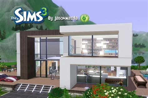 sims 3 home design ideas modern sims 3 house plans luxury the sims 3 house designs