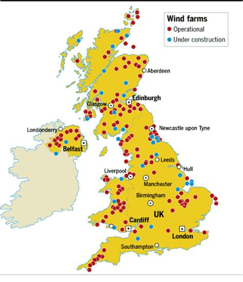 map uk wind farms inflated energy bills fail to boost market ft
