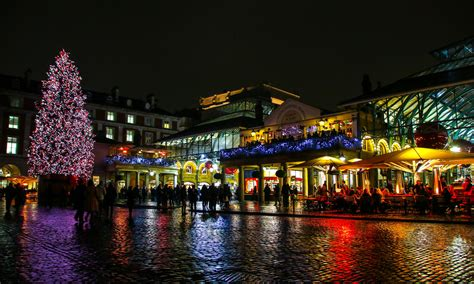 covent garden christmas lights at the apple market by