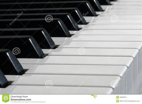White Black Kets black and white piano stock photography image 23536572