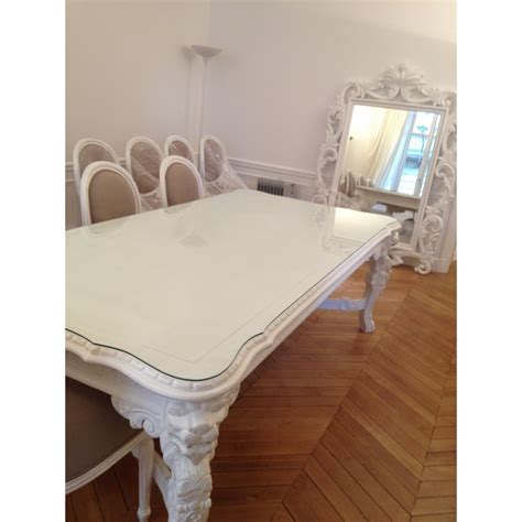 Chaise Blanche Salle A Manger 1278 by Table De Salle 224 Manger 126 Events Destockage Grossiste