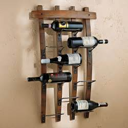 The Wine Rack by Barrel Stave Wall Rack Wine Enthusiast