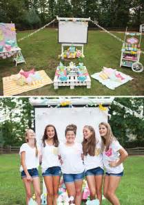 backyard party ideas for teenagers trendy outdoor movie night teen birthday party hostess