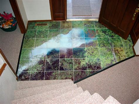 waterfall glass tile glass tile waterfall in home entry images in tile usa