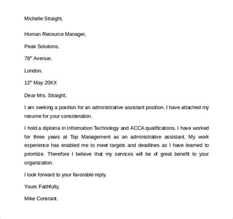 Assistant General Manager Cover Letter by General Cover Letter General Cover Letter Format General Cover Letter Format Letter