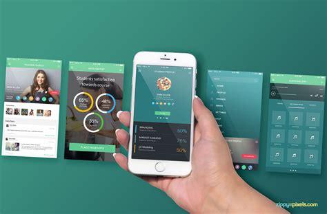 app design mockup free free iphone 6s perspective screen mockup zippypixels