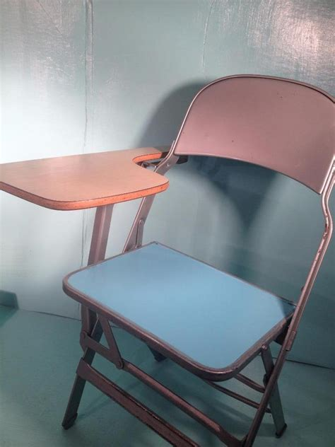 vintage folding tablet top classroom homeschool desk chair