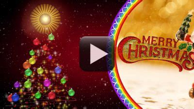 merry christmas  video    design creative