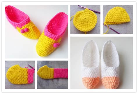 step by step crochet slippers how to make lovely diy crochet slippers step by step