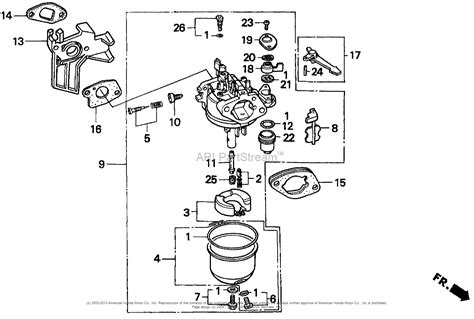 honda gx160 parts diagram honda engines gx200 qx2 engine jpn vin gcae 1000001 to