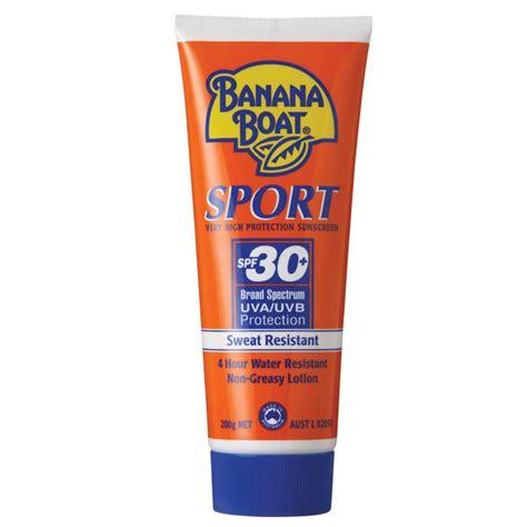 banana boat sport spf 30 banana boat spf 30 sport 200g tube chemist warehouse