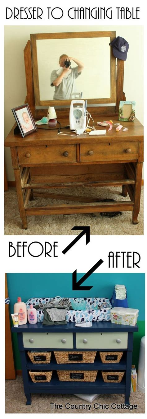 turn dresser into changing table turn a dresser into a changing table and more ideas in